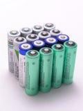 Patroon 3 van batterijen stock fotografie