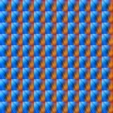 Patroon abstracte rode en blauwe kleur Stock Foto's