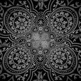 Patroon abstracte vormen Stock Afbeeldingen