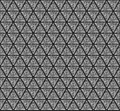 Patroon als achtergrond dat uit driehoekige diamanten wordt samengesteld Stock Afbeelding