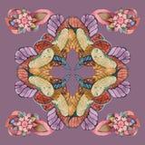 Patroon in Arabische stijl Royalty-vrije Stock Afbeelding