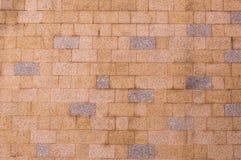 Patroon: Bakstenen muurpatroon Stock Afbeelding