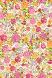 Patroon bloemen Royalty-vrije Stock Fotografie