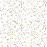 Patroon bloemen Stock Foto