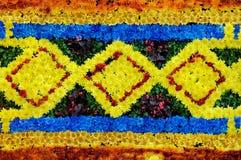 Patroon dat van Bloemen wordt gemaakt Royalty-vrije Stock Afbeeldingen