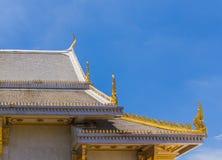 Patroon de Kerk in de tempel van Thailand Stock Fotografie