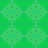 Patroon de vierkante ornamentvector Stock Fotografie