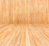 Patroon die bruine houten Textuur tonen als achtergrond Stock Foto