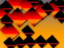 Patroon in een verschillende in stijl stock illustratie
