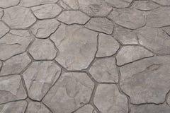 Patroon en achtergrond van de zegel de het concrete textuur Royalty-vrije Stock Afbeeldingen
