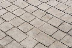 Patroon en achtergrond van de zegel de het concrete textuur Royalty-vrije Stock Foto's