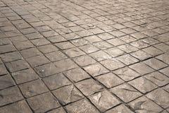 Patroon en achtergrond van de zegel de het concrete textuur Stock Foto