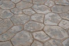 Patroon en achtergrond van de zegel de het concrete textuur Royalty-vrije Stock Foto