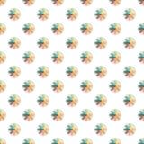 Patroon en naadloze achtergrond van en kleurrijk van abstracte textuur als achtergrond Royalty-vrije Stock Afbeeldingen