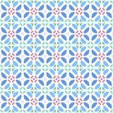 Patroon geometrische bloemenachtergrond Royalty-vrije Stock Fotografie