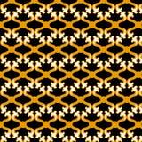 Patroon Gouden meetkunde Royalty-vrije Stock Afbeeldingen