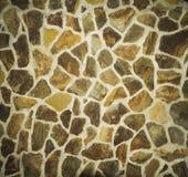 Patroon grijze kleur van de moderne oppervlakte van de de steenmuur van het stijlontwerp decoratieve ongelijke gebarsten echte me Stock Foto's