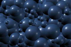Patroon II van ballen Stock Foto