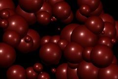 Patroon III van ballen vector illustratie
