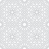 Patroon in Islamitische stijl royalty-vrije illustratie