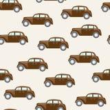 Patroon met auto's Stock Fotografie