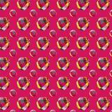 Patroon met ballen Stock Fotografie