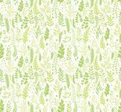 Patroon met bladeren Royalty-vrije Stock Foto