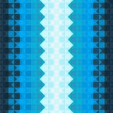 Patroon met blauwe vierkanten Royalty-vrije Stock Afbeelding