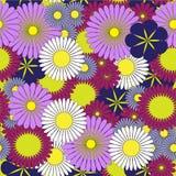 Patroon met bloemen Royalty-vrije Illustratie
