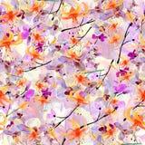 Patroon met bloemen Stock Fotografie
