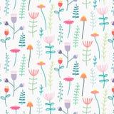 Patroon met Elegante Mooie Bloem vector illustratie