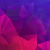 Patroon met geometrische vormendriehoek Eps 10 Stock Afbeelding