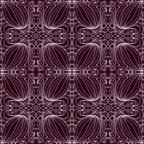 Patroon met gevoelige bloemen Stock Illustratie