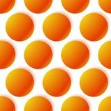Patroon met gloeiende cirkels Gestippeld Patroon foutloos herhaal royalty-vrije illustratie