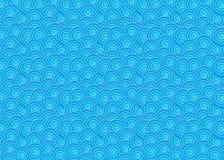 Patroon met golven Royalty-vrije Stock Fotografie