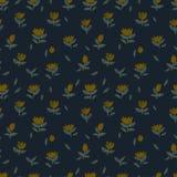 Patroon met kleine bloemen Stock Foto's