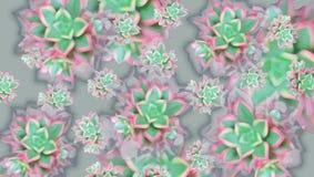 Patroon met kleurrijke bladeren van installaties vector illustratie
