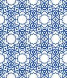 Patroon met Mediterrane & Marokkaanse motieven Royalty-vrije Stock Afbeelding