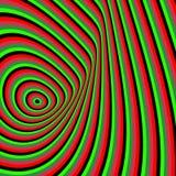 Patroon met optische illusie abstracte achtergrond royalty-vrije illustratie