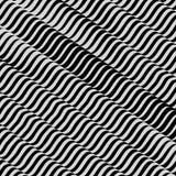 Patroon met optische illusie abstracte achtergrond 3D Illustratie vector illustratie