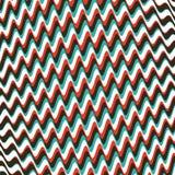 Patroon met optische illusie Abstracte gestreepte achtergrond Vector illustratie stock illustratie