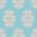 Patroon met roze bessen Stock Foto's