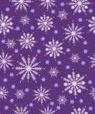 Patroon met sneeuwvlokken Royalty-vrije Stock Foto