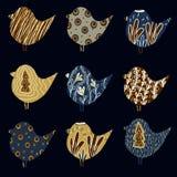 Patroon met Vogels vector illustratie