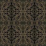 Patroon met wervelingen royalty-vrije illustratie