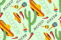 Patroon Mexico stock illustratie
