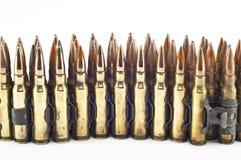 Patroon 7.62 mm-kaliber. Stock Fotografie
