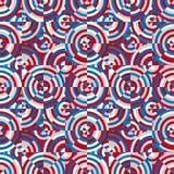 Patroon naadloze kleur Royalty-vrije Stock Afbeelding