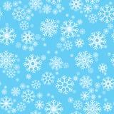 Patroon naadloze sneeuwvlok Royalty-vrije Stock Foto