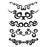 Patroon Ontwerp tatoegering Royalty-vrije Stock Afbeeldingen